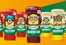 develey ketchup maionese barbecue
