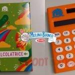 calcolatrice mulino bianco