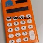 calcolatrice mulino bianco arancione
