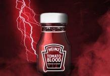heinz tomato blood