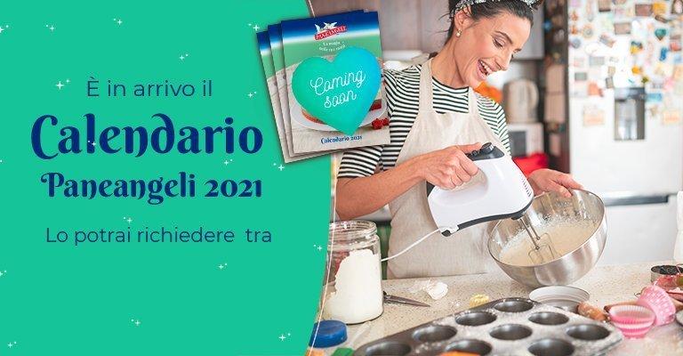 Calendario Paneangeli 2021: quando chiederlo gratis!   scontOmaggio