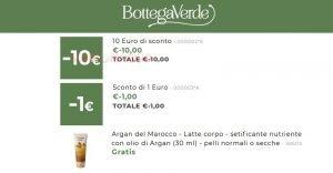 bottega verde 11 euro