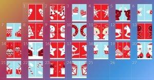Calendario dell'Avvento Sandberg