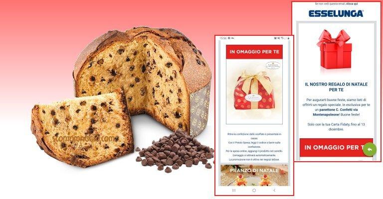 Calendario Esselunga 2021 Omaggio Esselunga: ritira gratis il Panettone C.Confetti via