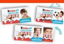 kinder cioccolato personalizzato