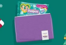 pampers pochette salviette