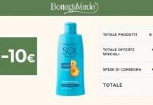 bottega verde -10 euro