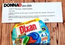 campione omaggio Dixan Discs 4 in 1