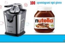 concorso nutella spremiagrumi ariete