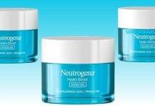 neutrogena hydro boost acqua gel