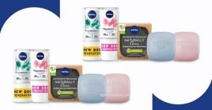 Nivea Naturally Clean e MagnesiumDry
