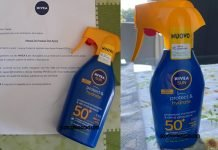 nivea sun protect hydrate