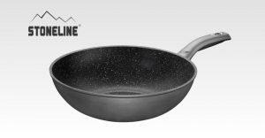 stoneline padella wok