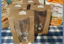 bicchieri del Mulino Bianco nuovi