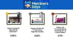 samsung members days
