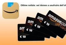 Amazon App buoni da 10 euro