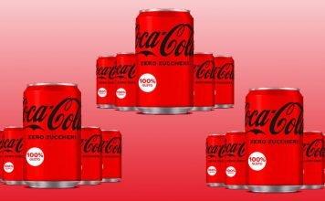 coca-cola zero zuccheri lattine