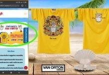 Estathe t-shirt Van Orton