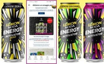 Esselunga omaggio: Lemonsoda Energy Activator