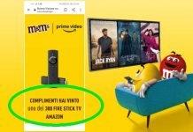 M&M's Fire Stick Amazon