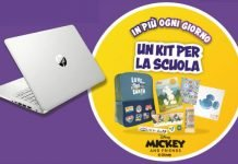 kit scuola disney e laptop hp