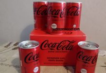 coca-cola zero zuccheri