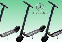 monopattino elettrico Mercedes Benz