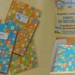 quaderni Mulino Bianco: verde, azzurro, arancione