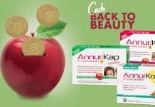 Annurkap cash back to beauty
