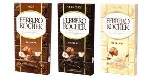 ferrero rocher tavolette di cioccolato