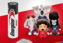 Energizer peluche sing2